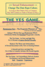 The Yes Game - How Sexual Enhancement Can Change the Date Rape Culture