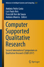 Computer Supported Qualitative Research - Second International Symposium on Qualitative Research (ISQR 2017)