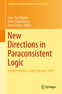 New Directions in Paraconsistent Logic - 5th WCP, Kolkata, India, February 2014