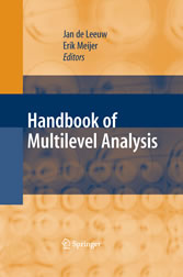 Handbook of Multilevel Analysis
