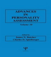 Advances in Personality Assessment - Volume 10