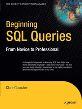 Beginning SQL Queries - From Novice to Professional