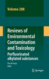 Reviews of Environmental Contamination and Toxicology Volume 208 - Perfluorinated alkylated substances