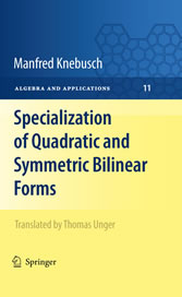 Specialization of Quadratic and Symmetric Bilinear Forms