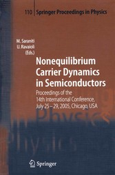 Nonequilibrium Carrier Dynamics in Semiconductors - Proceedings of the 14th International Conference, July 25-29, 2005, Chicago, USA