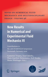 New Results in Numerical and Experimental Fluid Mechanics VI - Contributions to the 15th STAB/DGLR Symposium Darmstadt, Germany 2006