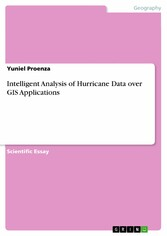 Intelligent Analysis of Hurricane Data over GIS Applications