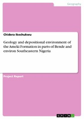 Geology and depositional environment of the Ameki Formation in parts of Bende and environ Southeastern Nigeria